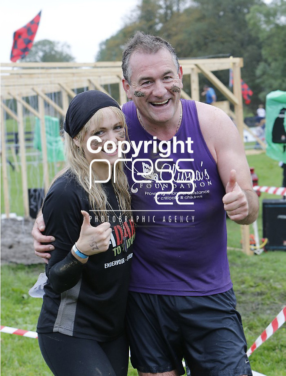 29/3/2013  Attending the Adare To Survive event in Clohshire, Adare, Co. Limerick on Sunday were Leanne Moore and Brendan Ring, Cliona's Foundation. Picture Liam Burke/Press 22 Adare to Survive is a 7.5km military style obstacle race which took place in the Clonshire Equestrian Centre, County Limerick.   The event this year will be supporting Cliona's Foundation. Cliona's Foundation provide financial assistance for critically ill children.