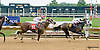 Grace is Beauty winning at Delaware Park racetrack on 7/14/14