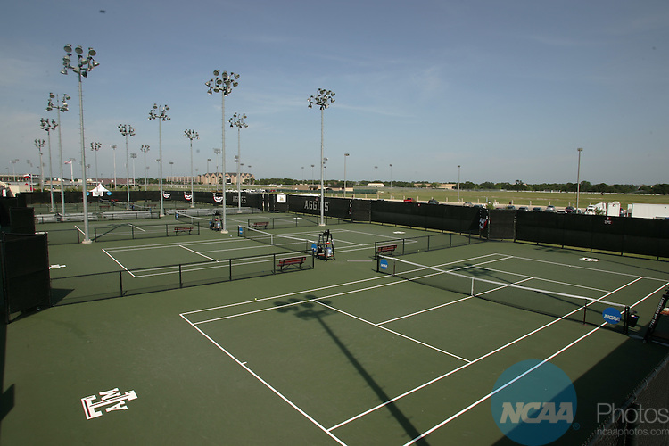 24 MAY 2005:  The NCAA Division I Men's Tennis Championship held at the George P. Mitchell Tennis Center on the Texas A&M University campus in College Station, TX.  Jamie Schwaberow/NCAA Photos
