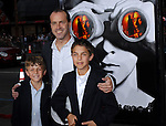Director DJ Caruso with his sons at the premiere of Disturbia held at Mann's Chinese Theater Hollywood, Ca. April 4, 2007. Fitzroy Barrett