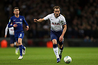 Harry Kane of Tottenham Hotspur and Jorginho of Chelsea during Tottenham Hotspur vs Chelsea, Caraboa Cup Football at Wembley Stadium on 8th January 2019