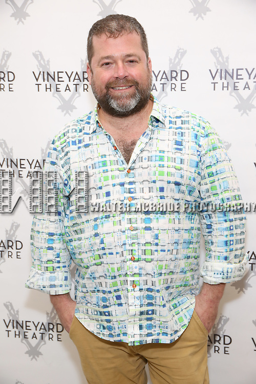 Peter DuBois attends the photo call for The Vineyard Theatre production of 'Can You Forgive Her' at the New 42nd Street Studios on April 3, 2017 in New York City.