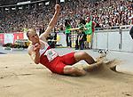 31.08.2014, OLympiastadion, Berlin, GER, Leichathletik, ISTAF-2014, im Bild Weitsprung, Christian Reif (GER)<br /> <br />               <br /> Foto &copy; nordphoto /  Engler