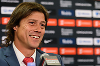 Harrison, NJ - Tuesday April 10, 2018: Matías Almeyda after leg two of a  CONCACAF Champions League semi-final match between the New York Red Bulls and C. D. Guadalajara at Red Bull Arena. C. D. Guadalajara defeated the New York Red Bulls 0-0 (1-0 on aggregate).