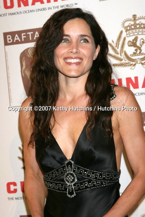 Rachel Shelley.BAFTA/LA Cunard Britannia Awards 2007.British Academy of Film & Television Arts / LA.Hyatt Regency Century Plaza Hotel.Los Angeles, CA.November 1, 2007.©2007 Kathy Hutchins / Hutchins Photo...               .