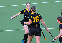 Capital v North Harbour women. 2019 National Hockey Under-18 Tournament at National Hockey Stadium in Wellington, New Zealand on Monday, 8 July 2019. Photo: Dave Lintott / lintottphoto.co.nz