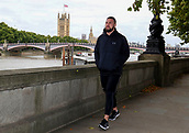 Joseph Parker during a training session in London ahead of his WBO heavyweight boxing title defence