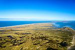 Nederland, Friesland, Terschelling, 28-02-2016; overzicht westelijk deel van Terschelling met in de voorgrond de slenken van de Boschplaat. Ameland aan de horizon<br /> Wadden island Terschelling from the West, Wadden sea. <br /> luchtfoto (toeslag op standard tarieven);<br /> aerial photo (additional fee required);<br /> copyright foto/photo Siebe Swart