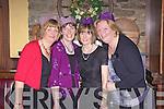 Girls night out in Leen's Hotel, Abbeyfeale last Friday night, pictured l-r: Nora Kelly(Knocknagoshal), Mary Lane(Killmorna), Betty Fitzgerald(Abbeyfeale) and Eileen O'Sullivan(Killmorna).