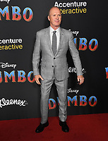 11 March 2019 - Hollywood, California - Michael Keaton. &quot;Dumbo&quot; Los Angeles Premiere held at Ray Dolby Ballroom. Photo <br /> CAP/ADM/BT<br /> &copy;BT/ADM/Capital Pictures