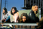 Billboard for the band Free on the Sunset Strip in Los Angeles, CA