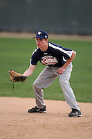 January 17, 2010:  Cale Russell (Norman, OK) of the Baseball Factory Southeast Team during the 2010 Under Armour Pre-Season All-America Tournament at Kino Sports Complex in Tucson, AZ.  Photo By Mike Janes/Four Seam Images