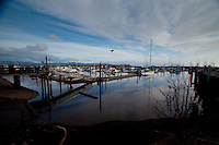 Marina at Ilwaco Harbor, Ilwaco, Washington, US