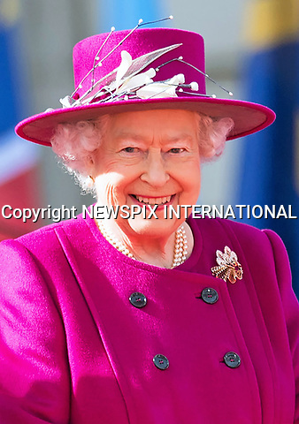 13.03.2017; London, England: QUEEN ELIZABETH<br />started the countdown to the 2018 Commonwealth Games by launching the baton relay at Buckingham Palace.<br />She handed the baton to two-time Australian Olympic champion cyclist Anna Meares.<br />The relay will span 388 days, 71 countries and more than 200,000 miles before reaching the Gold Coast for the XXI Commonwealth Games Opening Ceremony on 4 April 2018<br />The Duke of Edinburgh and Prince Edward were present at the ceremony.<br />Australian singer Cody Simpson performed at the event.<br />Mandatory Credit Photo: &copy;MoD/NEWSPIX INTERNATIONAL<br /><br />IMMEDIATE CONFIRMATION OF USAGE REQUIRED:<br />Newspix International, 31 Chinnery Hill, Bishop's Stortford, ENGLAND CM23 3PS<br />Tel:+441279 324672  ; Fax: +441279656877<br />Mobile:  07775681153<br />e-mail: info@newspixinternational.co.uk<br />*All fees payable to Newspix International*