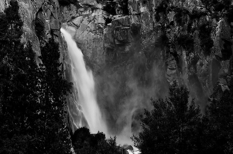 Cascade Falls, Yosemite  35mm on film