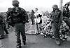 APPUNTI FOTOGRAFICI DALLA PALESTINA<br /> insieme ad Action for peace dicembre -gennaio 2001 /2002<br /> <br /> <br /> Fotografie di<br /> <br /> Isabella Balena<br /> Nicola Lux<br /> Bruna Orlandi<br /> Walter Zaffaroni<br /> <br /> <br /> Gli eventi tragici e le cronache quotidiane dalla Palestina hanno dimensioni talmente enormi che qualunque immagine restituisce poca cosa davanti a tanto dolore. Queste fotografie vogliono essere semplicemente &ldquo;appunti&rdquo; ovvero suggerire pensieri su alcune questioni fondamentali: i muri e le pressioni militari quotidiane alle quali sono sottoposti i palestinesi, la fine dell&rsquo;occupazione, un possibile intervento umanitario e pacifista di protezione alla popolazione civile.<br /> L&rsquo;intento &egrave; quello di farne una mostra &ldquo;in progress&rdquo; ampliata e riveduta di volta in volta con immagini nuove, attinenti all&rsquo;attualit&agrave; della situazione israelo-palestinese e del movimento pacifista internazionale.