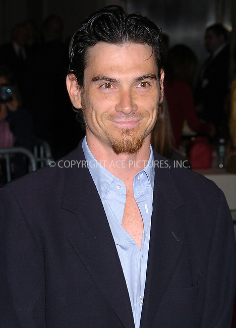 WWW.ACEPIXS.COM . . . . .  ..NEW YORK, OCTOBER 4, 2004: Billy Crudup at the premiere of 'Stage Beauty.' Please byline: AJ Sokalner - ACE PICTURES..... *** ***..Ace Pictures, Inc:  ..Alecsey Boldeskul (646) 267-6913 ..Philip Vaughan (646) 769-0430..e-mail: info@acepixs.com..web: http://www.acepixs.com