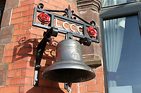 General view of the pavilion bell during Lancashire CCC vs Essex CCC, Specsavers County Championship Division 1 Cricket at Emirates Old Trafford on 6th September 2017