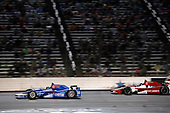 Verizon IndyCar Series<br /> Rainguard Water Sealers 600<br /> Texas Motor Speedway, Ft. Worth, TX USA<br /> Saturday 10 June 2017<br /> Tony Kanaan, Chip Ganassi Racing Teams Honda Marco Andretti, Andretti Autosport with Yarrow Honda<br /> World Copyright: Michael L. Levitt<br /> LAT Images