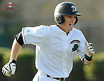 Photo of the University of South Carolina Upstate Spartans in a game against the Winthrop University Eagles on Wednesday, March 4, 2015, at Cleveland S. Harley Park in Spartanburg, South Carolina. (Tom Priddy/Four Seam Images)