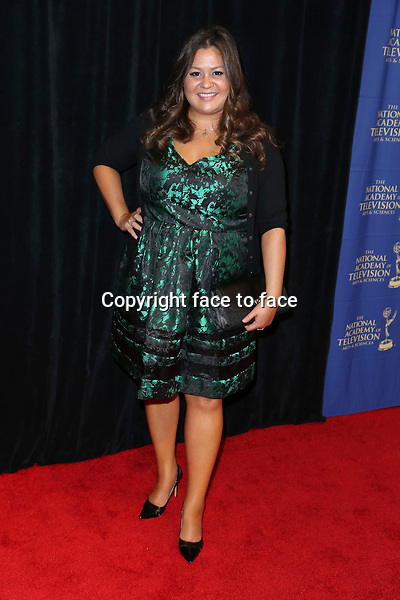LOS ANGELES, CA - JUNE 20: Angelica McDaniel at the Daytime Creative Arts Emmy Awards Gala at the Westin Bonaventure Hotel on June 20, 2014 in Los Angeles, California. Credit: mpi86/MediaPunch<br />