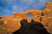 Turret Arch(Windows area)-Arches National Park, Utah