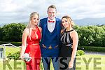 Enjoying the Colaiste na Sceilge Debutante Ball at Ballyroe Heights Hotel on Tuesday were l-r  Courtney O'Sullivan, Aaron O'Shea and Ciara O'Sullivan