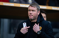 Hull City manager Grant McCann<br /> <br /> Photographer Alex Dodd/CameraSport<br /> <br /> The EFL Sky Bet Championship - Hull City v Leeds United - Saturday 29th February 2020 - KCOM Stadium - Hull<br /> <br /> World Copyright © 2020 CameraSport. All rights reserved. 43 Linden Ave. Countesthorpe. Leicester. England. LE8 5PG - Tel: +44 (0) 116 277 4147 - admin@camerasport.com - www.camerasport.com