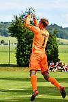 05.07.2017, Sportplatz, Wolfertschwenden, GER, FSP, SV Sandhausen vs FC Luzern, im Bild Marco Knaller (Sandhausen #1)<br /> <br /> Foto &copy; nordphoto / Hafner