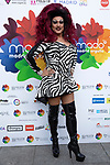 Spanish Drag queen La Plexy during photocall of the lgtb pride party of Madrid. July 3, 2019. (ALTERPHOTOS/JOHANA HERNANDEZ)
