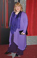 Annie Wallace at the British Soap Awards 2019, The Lowry Theatre, Pier 8, The Quays, Media City, Salford, Manchester, England, UK, on Saturday 01st June 2019.<br /> CAP/CAN<br /> ©CAN/Capital Pictures