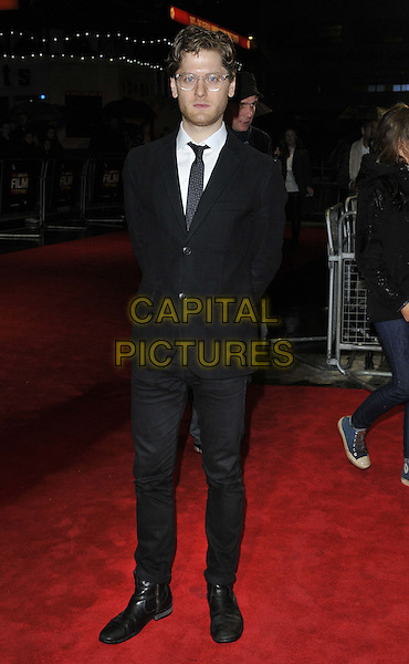 LONDON, ENGLAND - OCTOBER 12: Kyle Soller attends the &quot;The Keeping Room&quot; Official Competition screening, 58th LFF day 5, Odeon West End cinema, Leicester Square, on Sunday October 12, 2014 in London, England, UK. <br /> CAP/CAN<br /> &copy;Can Nguyen/Capital Pictures