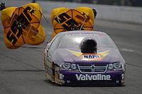 Sept. 30, 2012; Madison, IL, USA: NHRA pro stock driver Vincent Nobile during the Midwest Nationals at Gateway Motorsports Park. Mandatory Credit: Mark J. Rebilas-