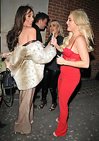 Amber Dowding and Amber Turner at the In The Style TOTES OVER IT Valentine's Party, Libertine, Winsley Street, London, England, UK, on Thursday 08 February 2018.<br /> CAP/CAN<br /> &copy;CAN/Capital Pictures