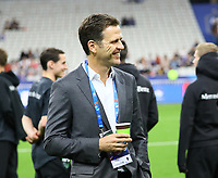 Teammanager der Nationalmannschaft Oliver Bierhoff (Deutschland Germany)- 16.10.2018: Frankreich vs. Deutschland, 4. Spieltag UEFA Nations League, Stade de France, DISCLAIMER: DFB regulations prohibit any use of photographs as image sequences and/or quasi-video.