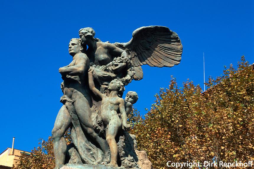 Italien, Elba, Portoferraio, Piazza della Repubblica