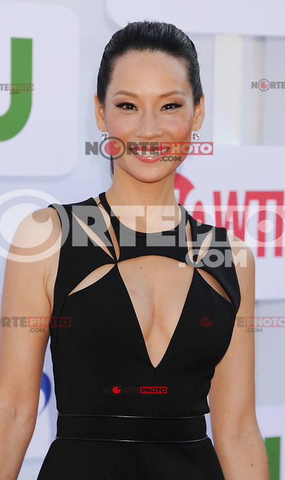 BEVERLY HILLS, CA - JULY 29: Lucy Liu arrives at the CBS, Showtime and The CW 2012 TCA summer tour party at 9900 Wilshire Blvd on July 29, 2012 in Beverly Hills, California. /NortePhoto.com<br /> <br />  **CREDITO*OBLIGATORIO** *No*Venta*A*Terceros*<br /> *No*Sale*So*third* ***No*Se*Permite*Hacer Archivo***No*Sale*So*third*