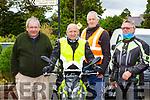 Peter O'Connor, , John Daly bothe Listowel, Noel Brosnan Killarney and Tim Fleming Kilcummin at the Beaufort Honda 50 run on Sunday morning