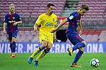 League Santander 2017/2018 - Game: 7.<br /> FC Barcelona vs UD Las Palmas: 3-0.<br /> Hernan vs Denis Suarez.