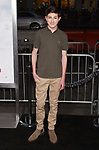 HOLLYWOOD, CA - OCTOBER 16: Actor Mason Cook attends the premiere of Warner Bros. Pictures' 'Geostorm' at the TCL Chinese Theatre on October 16, 2017 in Hollywood, California.