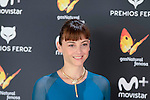 Leonor Watling attends to the Feroz Awards 2017 in Madrid, Spain. January 23, 2017. (ALTERPHOTOS/BorjaB.Hojas)