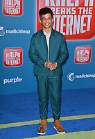 "LOS ANGELES, CA. November 05, 2018: Jordan Fisher at the world premiere of ""Ralph Breaks The Internet"" at the El Capitan Theatre.<br /> Picture: Paul Smith/Featureflash"
