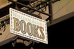 bookstore window, Port Townsend, Water Street, William James bookstore,  Washington State, Port Townsend Historic District,