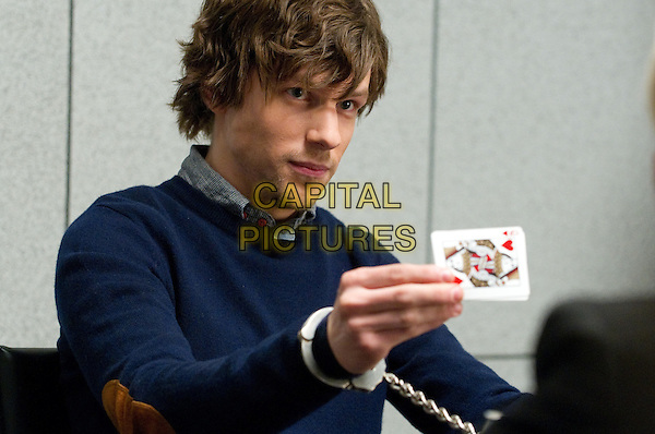 Jesse Eisenberg<br /> in Now You See Me (2013) <br /> *Filmstill - Editorial Use Only*<br /> CAP/NFS<br /> Image supplied by Capital Pictures