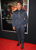 Beulah Koale at the premiere for &quot;Thank You For Your Service&quot; at the Regal LA Live Theatre. Los Angeles, USA 23 October  2017<br /> Picture: Paul Smith/Featureflash/SilverHub 0208 004 5359 sales@silverhubmedia.com