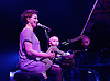 An Evening with... Amanda Palmer and her father Jack Palmer and guests including Neil Gaiman performing live at KOKO, Camden Town, London, Great Britain <br /> 3rd June 2016<br /> <br /> Amanda Palmer  with baby son Ash <br /> <br /> <br /> Photograph by Elliott Franks <br /> Image licensed to Elliott Franks Photography Services