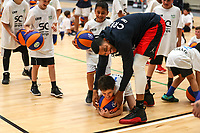 Andre Roberson. <br /> Steven Adams Basketball Camp, Bruce Pullman Arena, Auckland. Monday 28 August 2017. Photo: Simon Watts/www.bwmedia.co.nz