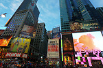 NEW YORK - MARCH 3:  Scenes from Times Square New York City on March 3, 2012 in New York City.  (Photo by Donald Bowers)