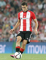 Athletic de Bilbao's Oscar de Marcos during Supercup of Spain 1st match.August 14,2015. (ALTERPHOTOS/Acero)