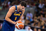 Spain's basketball player Felipe Reyes during the  match of the preparation for the Rio Olympic Game at Madrid Arena. July 23, 2016. (ALTERPHOTOS/BorjaB.Hojas)